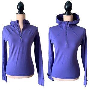 Lululemon Half Zip Hooded Pullover, Size 6